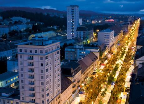 Оживленные улицы города