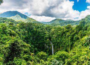 Водопад La Fortuna