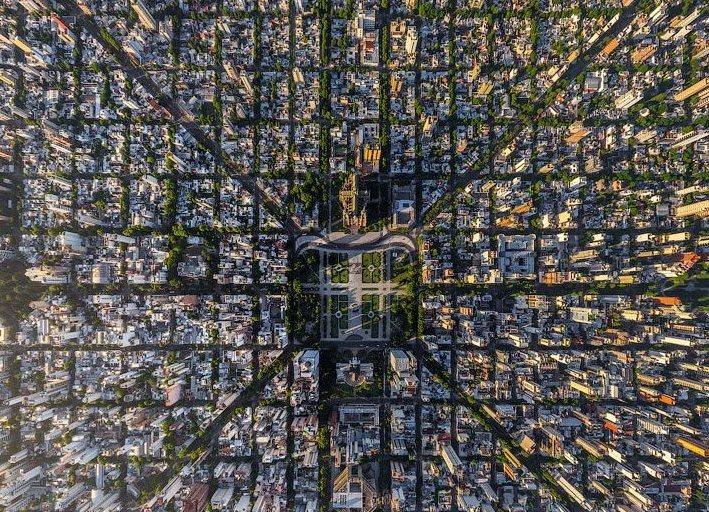 Схематическое расположение улиц