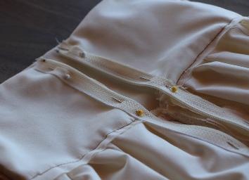 Koronkowa sukienka z własnymi rękami11