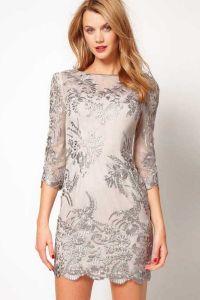 haljine s čipkom umetcima