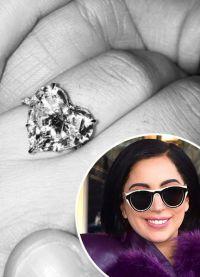 обручальное кольцо Леди Гага