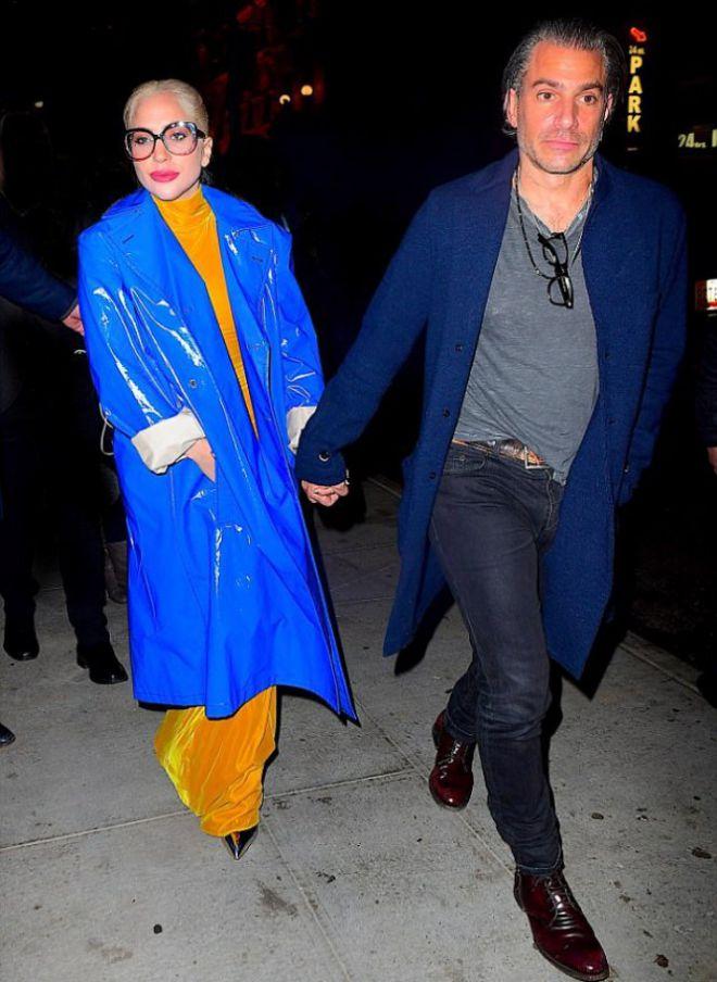 Леди Гага с Кристианом Карино