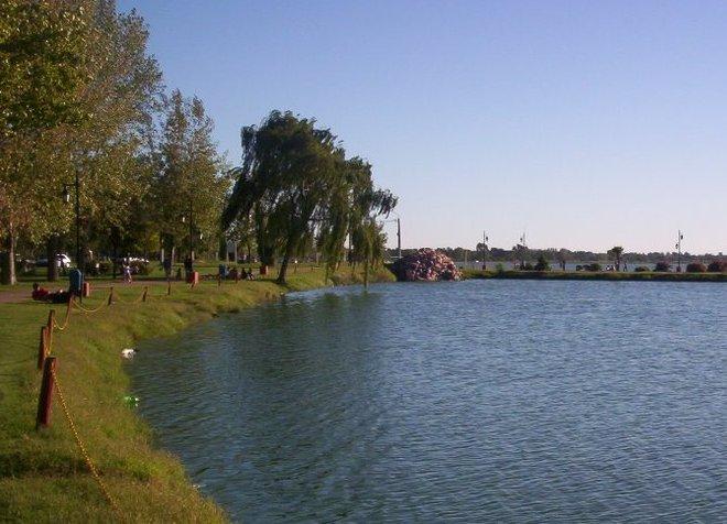 Территория рекреационного парка