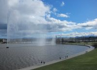 Зона отдыха вокруг озера