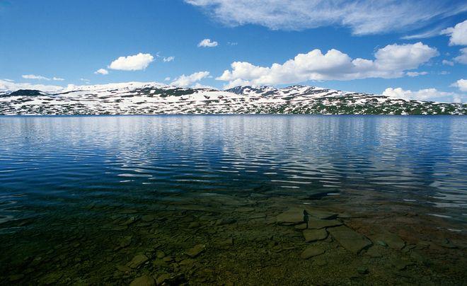 Озеро Крутватнет