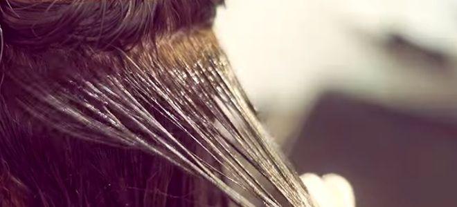 Ламинирование волос в салоне шестой