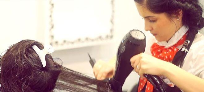 Ламинирование волос в салоне девятый