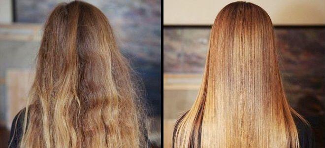 Что лучше ламинирование волос или кератиновое выпрямление кератинирование