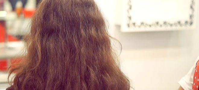 Ламинирование волос в салоне первый
