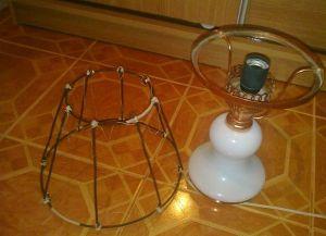 Abażurek do lampy stołowej własnymi rękami (1)