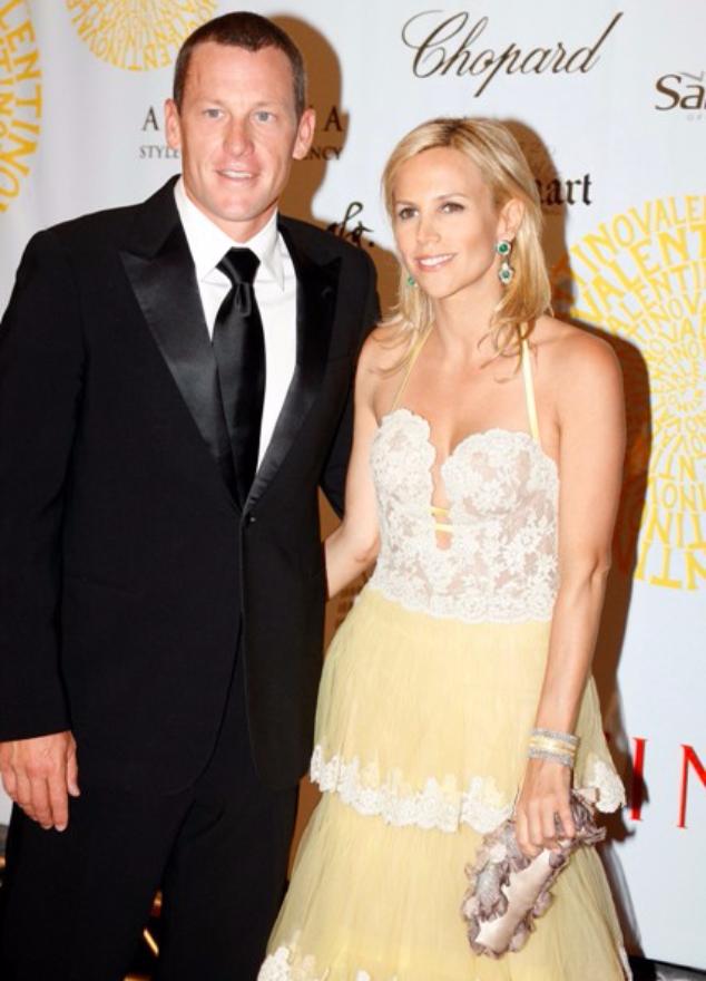 Армстронг и Тори Берч в 2007 году