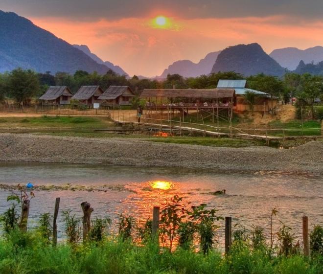 Экзотический Лаос