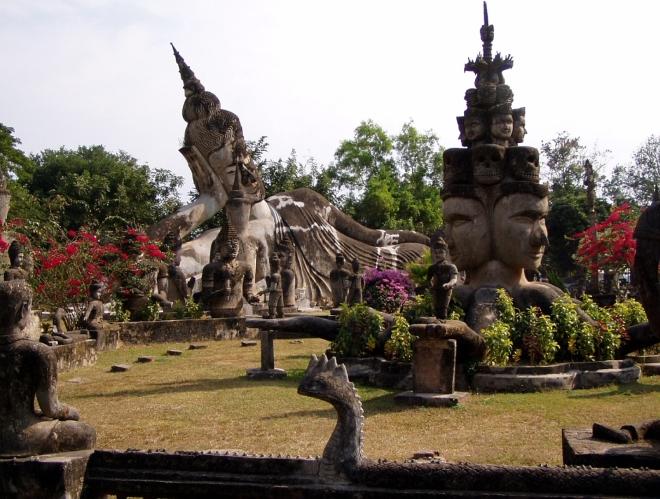 Вьентьян - Будда-парк
