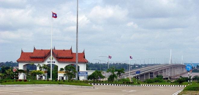 Мост между Лаосом и Таиландом