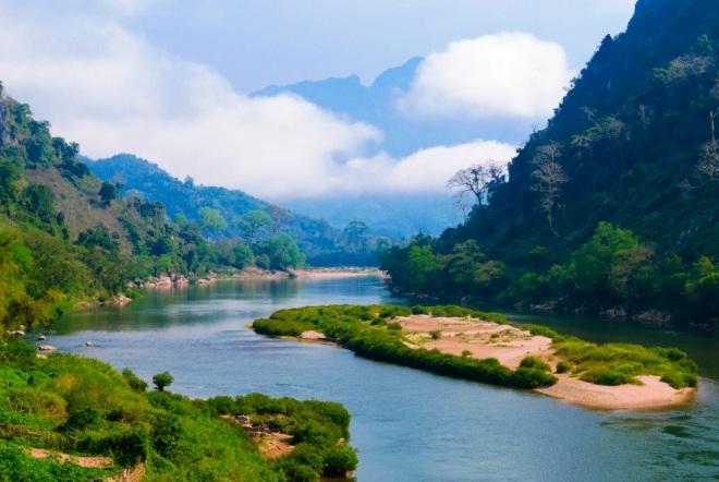 Река У