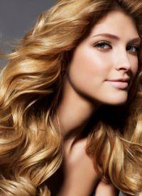 прическа големи къдрици за дълга коса 2