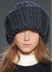 wielkogabarytowe czapki knit11