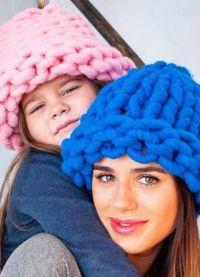masywne czapki na drutach7