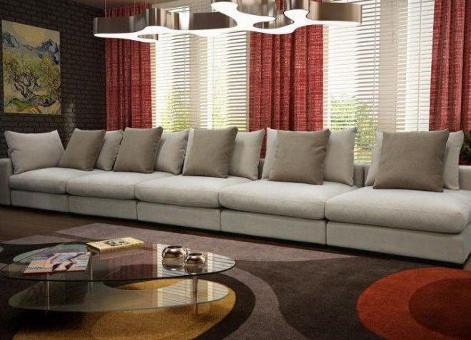 прямые диваны для гостиной