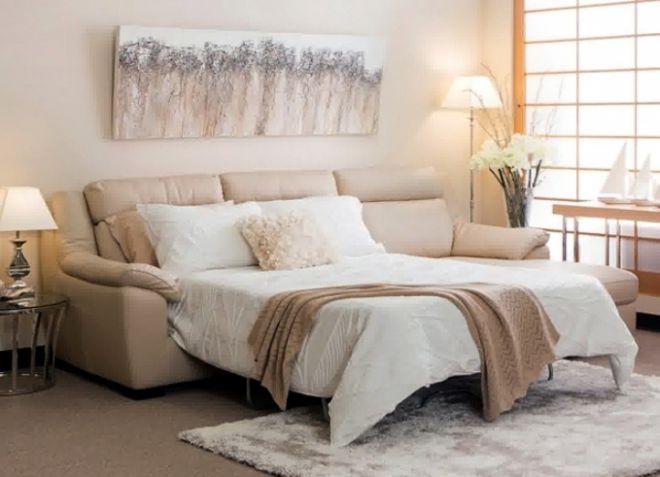 мягкие диваны для спальни