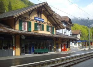 Станция вокзала Лаутербруннен