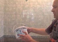 Постављање плочица у купатилу36