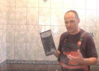 Постављање плочица у купатилу37