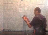 Постављање плочица у купатилу39