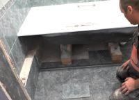 Постављање плочица у купатилу75