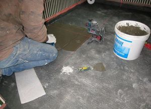 Postavljanje pločice na pod3