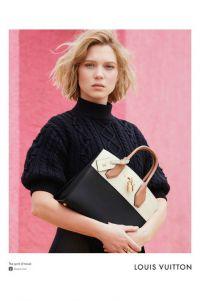 Леа Сейду стала героиней в рекламной кампании Louis Vuitton