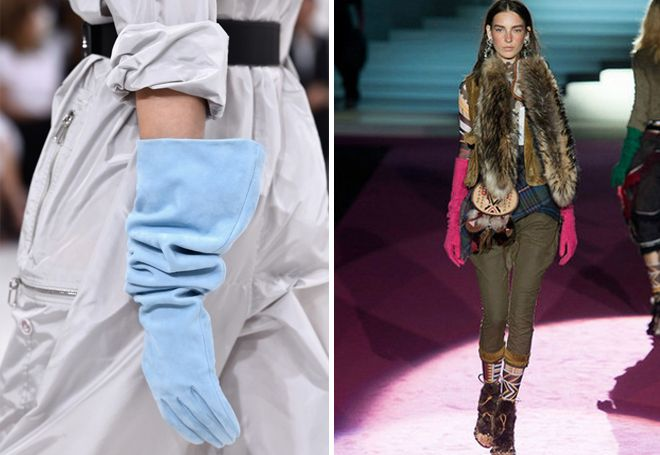 visoke kožne rukavice