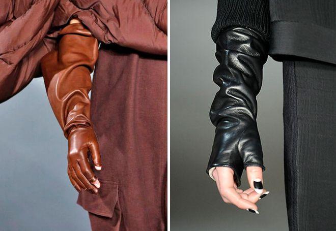 kožne rukavice bez prstiju