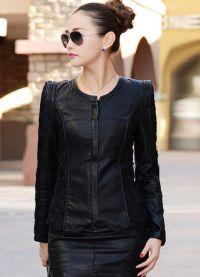 кожени якета мода 2015 10