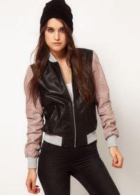 кожени якета мода 2015 1