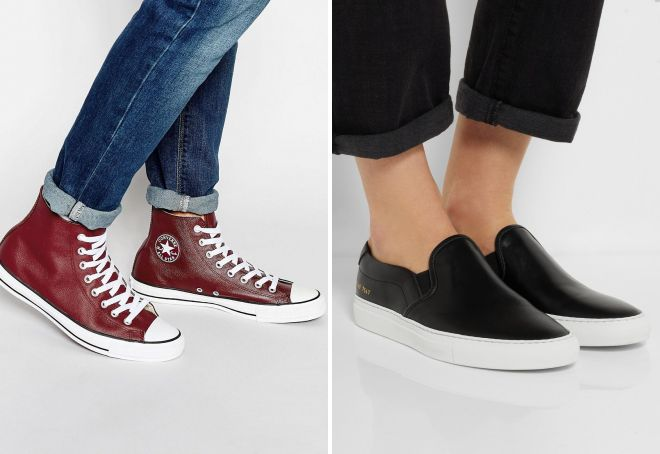 moderne kožne cipele