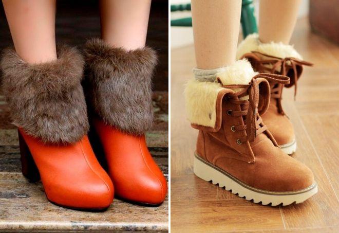 zimske kožne cipele
