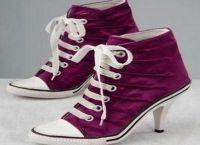 Skórzane buty sportowe 4