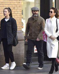 Кейт с бывшем мужем  Майклом Шином  их 17-летней дочерью