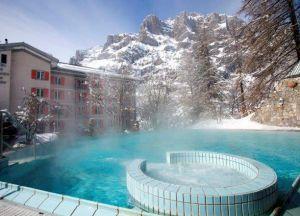 Отель Les Sources des Alpes