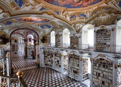 Внутреннее убранство библиотеки