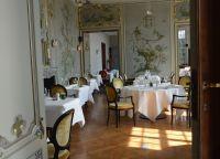 Зал ресторана Le Selys