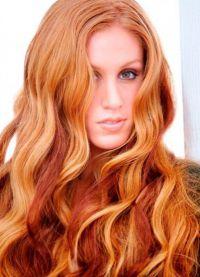 светло црвена коса 4
