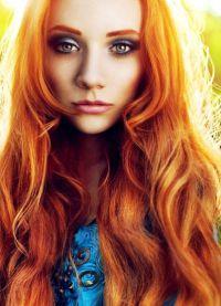 светло црвена боја косе за било кога 8