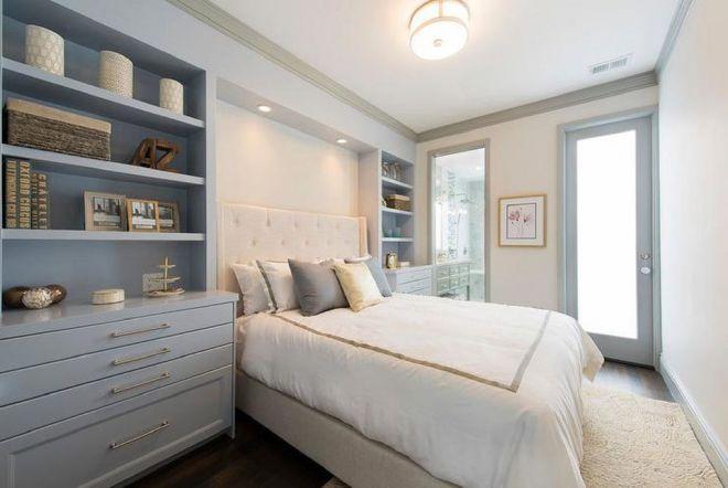 освещение над кроватью в спальне