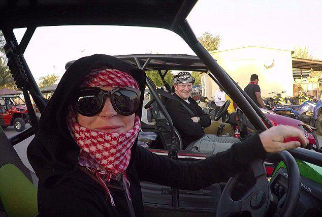 Линдси Лохан в Дубае