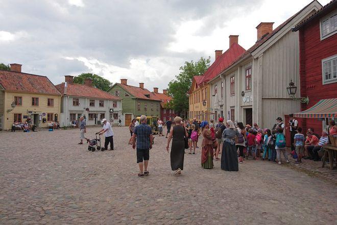 Этнографический музей под открытым небом Gamla Linkoping