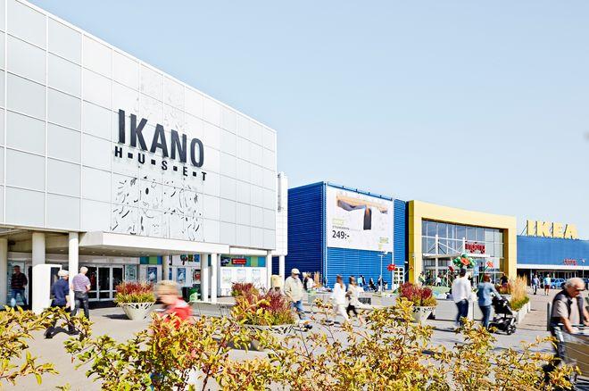 Шопинг-центры IKANO-huset и IKEA в Линчепинге
