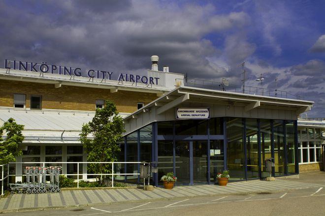 Местный аэропорт в Линчепинге